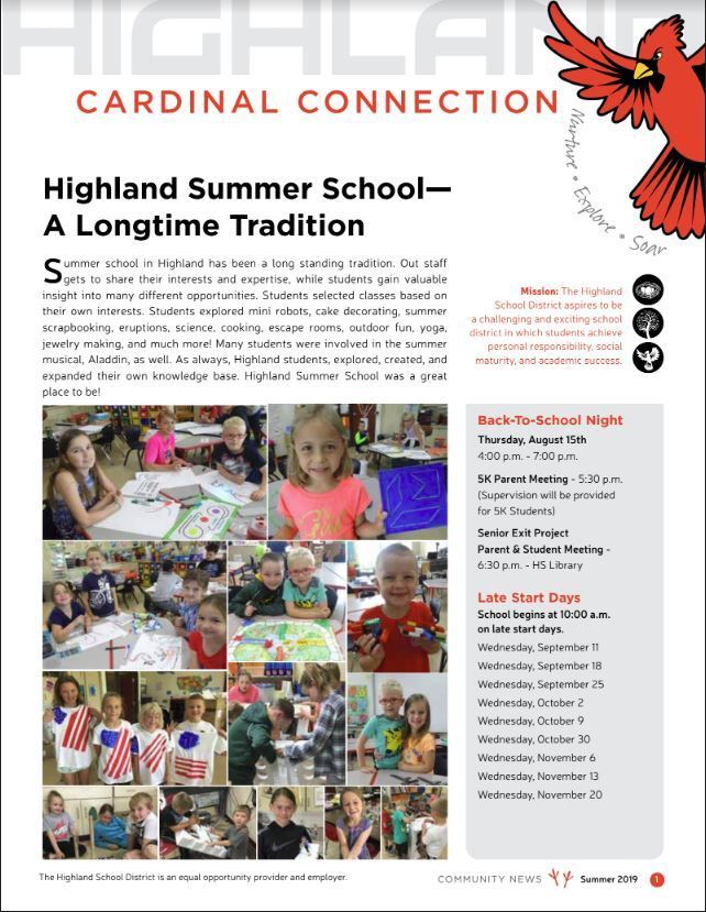 Highland Community Schools