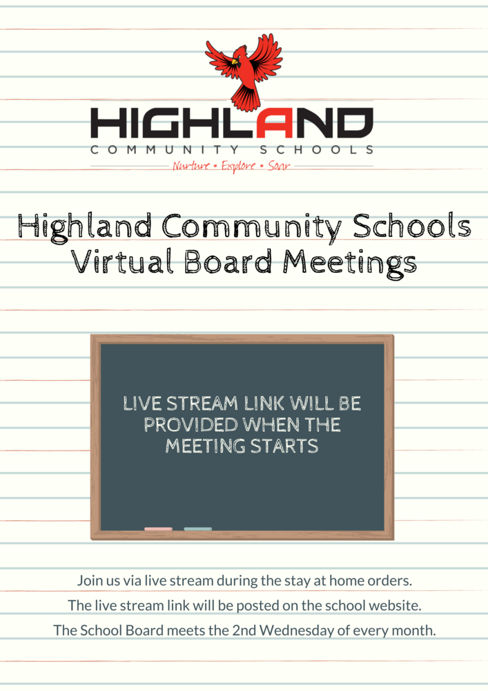 Virtual School Board Meetings
