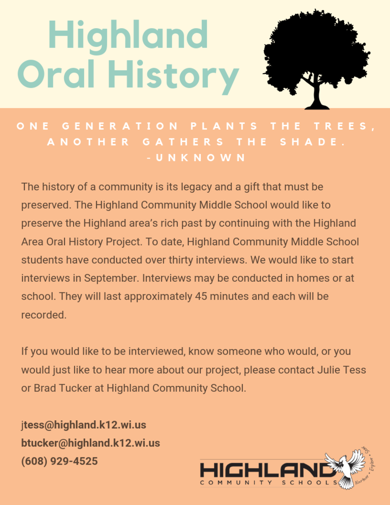 Highland Oral History