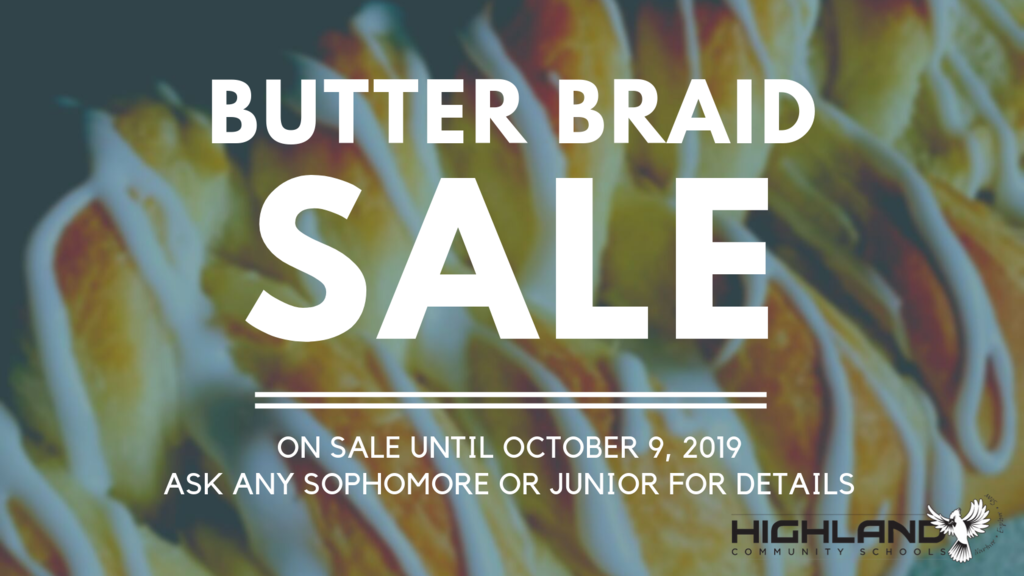Butter Braid Sale